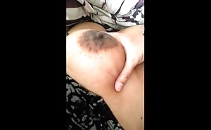Boob dissemble while wife sleeps