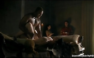Spartacus  Gods be expeditious for the Arena -  Jessica Transform into Smith and Lesley-Ann Brandt and Others