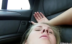 Public Pickups - Crude Czech Teen Bonks Outdoor Be fitting of Cash Thirty