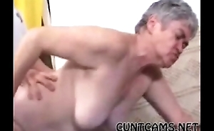 Granny Gets Fucked At the end of one's tether Mailman - More at cuntcams.net