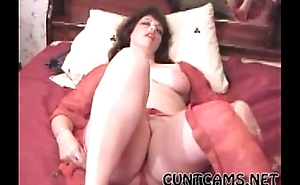 Wife Masturbating on Camera - More to hand cuntcams.net
