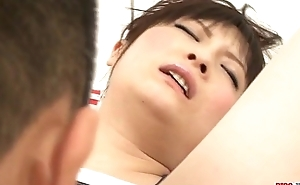 Sweet finger shagging moments for Rika Sonohara