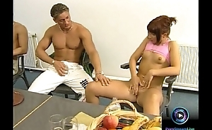 Kathy Heart and Baby Exposure group sexual intercourse anal