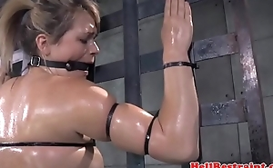 Canned submissive skank in tt nt session