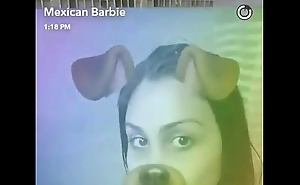 mexican barbie uncovered in shower