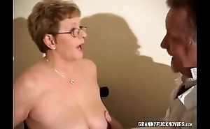 Granny Shows Say no to Big Tits