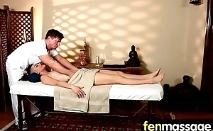 Massage Girl Sucks the Bonus be beneficial to a Bonus 22