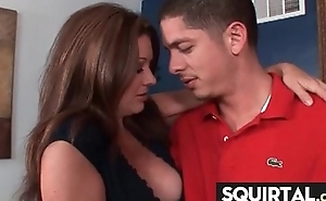 Teen Latina Squirts greatest extent possessions drilled 12